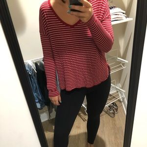 Soft and Sexy Striped Long Sleeve